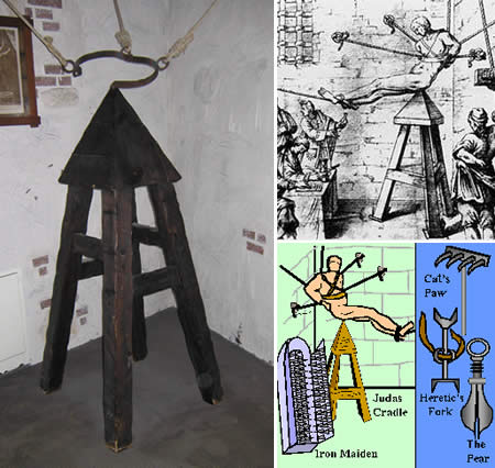 Judas Cradle The victims