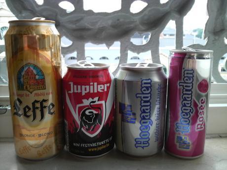 ベルギーの缶ビール