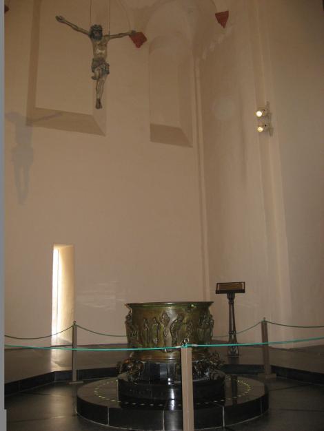 聖バルテルミーの洗礼盤