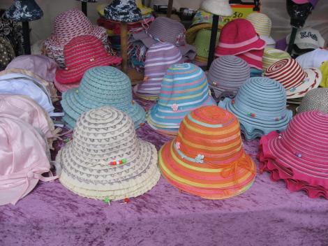 帽子もある
