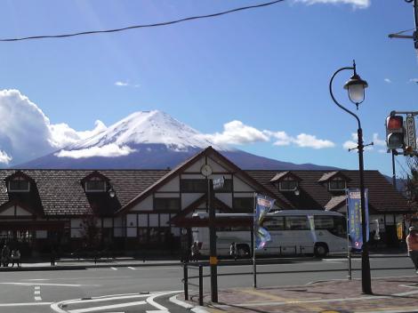 やった!富士山見えました
