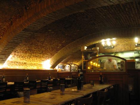 レンガの天井