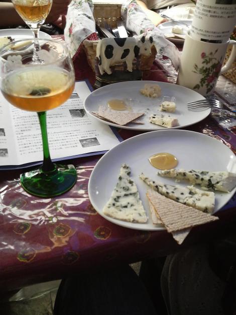 ロックフォールとワイン