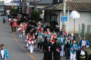 2009.10.12.・「秋祭り、神祇、打ち出し・おねり」、2