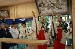 2009.10.12.・「秋祭り、巫女舞い」、3