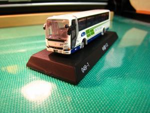 京商、1/150スケール・DIE-CAST BUS SERIES 「中国バス」、MITSUBISHI  FUSO・ Aero Queen、(ミニカー)3