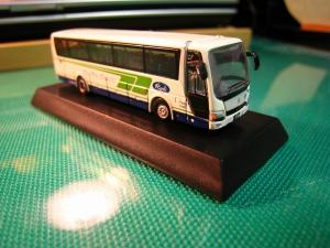 京商、1/150スケール・DIE-CAST BUS SERIES 「中国バス」、MITSUBISHI  FUSO・ Aero Queen、(ミニカー)4