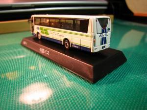 京商、1/150スケール・DIE-CAST BUS SERIES 「中国バス」、MITSUBISHI  FUSO・ Aero Queen、(ミニカー)5