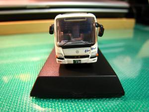 京商、1/150スケール・DIE-CAST BUS SERIES 「中国バス」、MITSUBISHI  FUSO・ Aero Queen、(ミニカー)6
