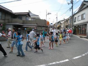 「宮島さん宵祭り・2009.8.2」、船巡行1