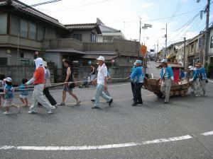 「宮島さん宵祭り・2009.8.2」、船巡行2