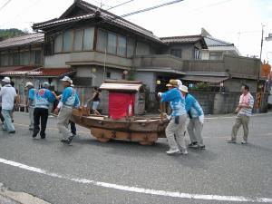 「宮島さん宵祭り・2009.8.2」、船巡行3