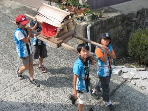 「宮島さん宵祭り・2009.8.2」、船巡行・お神輿巡行