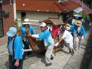 「宮島さん宵祭り・2009.8.2」、船巡行5