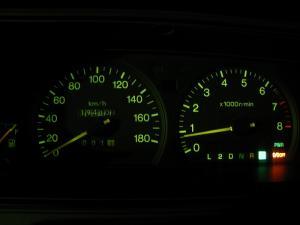 愛車「クラウン、エステートワゴン」のスピード・メーター類、1