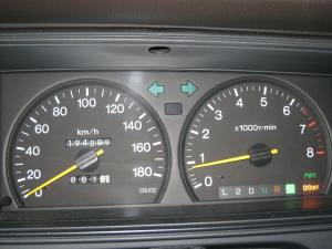 愛車「クラウン、エステートワゴン」のスピード・メーター類、2
