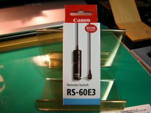 Canon EOS、アクセサリー「リモートスイッチ」、1