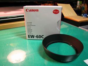 Canon EOS、「レンズフードEW-60C」、1