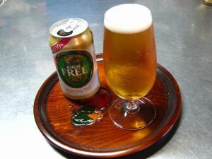 キリン「キリン・フリー」、ノンアルコール・ビール、3