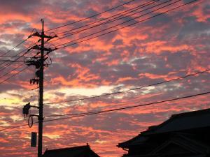2009.8.23.「神辺の夕焼け」、1