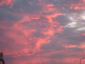 2009.8.23.「神辺の夕焼け」、2