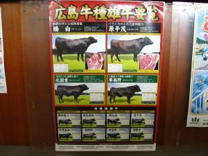 「広島牛種雄牛要覧」、