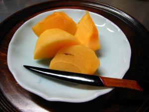 「刀根柿」、2