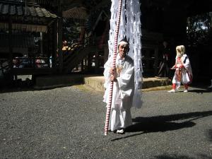 2009.10.12.・「秋祭り、大幣・吉備津神社」、