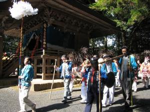 2009.10.12.・「秋祭り、吉備津神社、神祇」、
