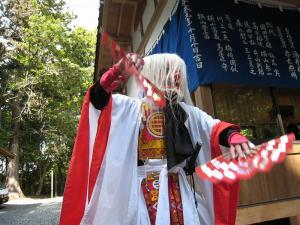 2009.10.12.・「秋祭り、猿田彦命」、2