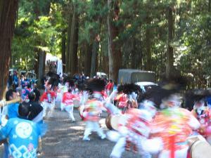 2009.10.12.・「秋祭り、神祇」、1