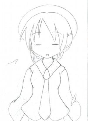 デフォ子さん(描きかけ)