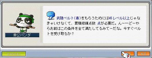 青ベルト~
