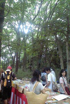 下鴨神社 古本市①