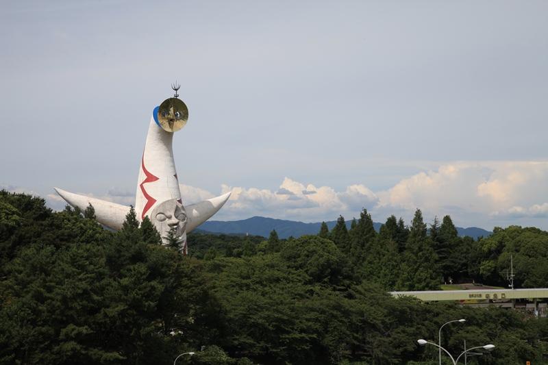 頭を雲の上に出し~(富士山に負けないよ)