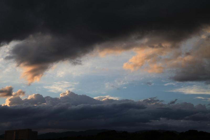 流雲に乗って