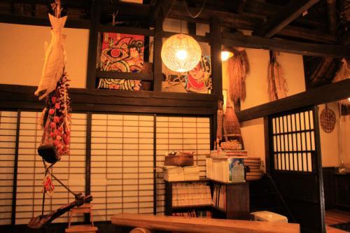 蕎仙坊の待合室