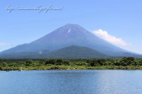 精進湖から富士山03