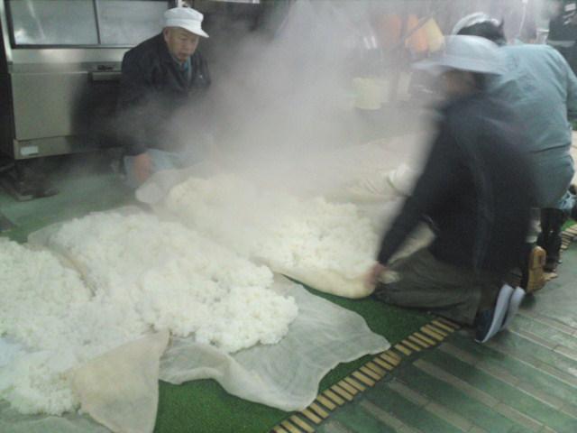 杜の蔵蒸し米