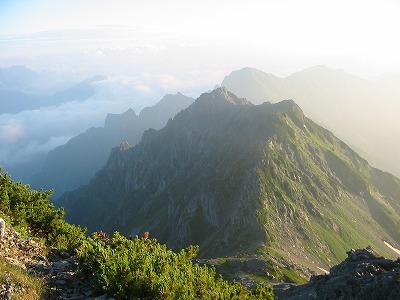 スバリ岳 赤沢岳