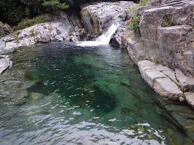 大釜小滝の釜
