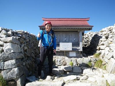 木曽駒頂上1