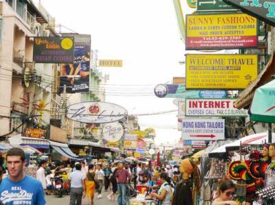 タイ旅行 カオサン通り