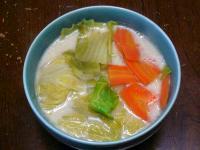 豚骨野菜ラーメン20110225