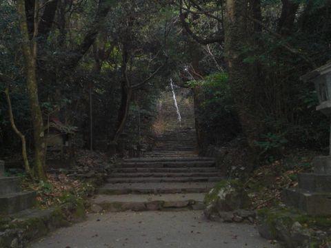 って、いきなり階段かよ!!