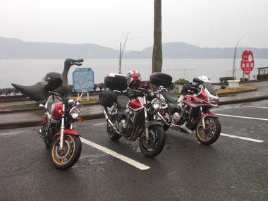 池田湖にて