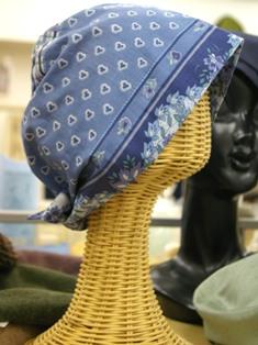 室内用かぶり帽子