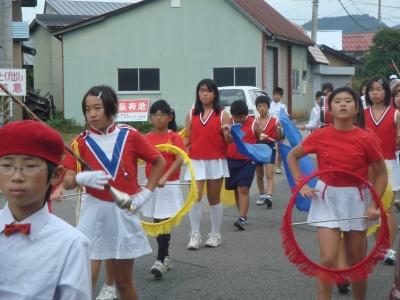 鼓笛パレード1