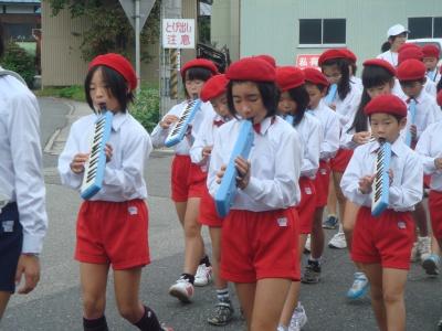 鼓笛パレード3
