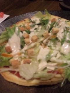 シーザーサラダピザ